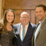 L to R: Candidate Lauren Arikan, State Assembly 7th District, Governor Larry Hogan, MD-R and Yusuf Arikan